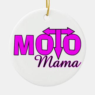 Moto Mama Ceramic Ornament