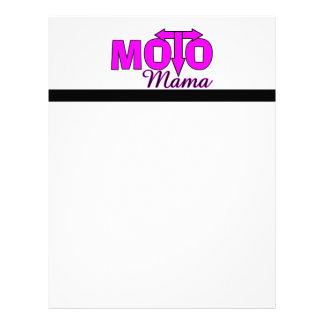 Moto Mama Letterhead Design