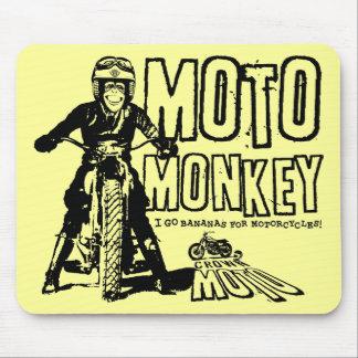 Moto Monkey Mousepad