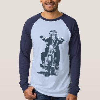 Moto Monkey (slate) T-shirt
