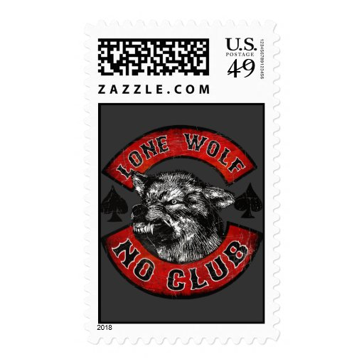 Moto ningún club sellos postales