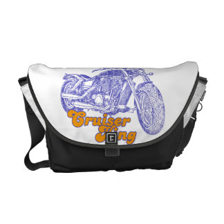 Moto passion messenger bags