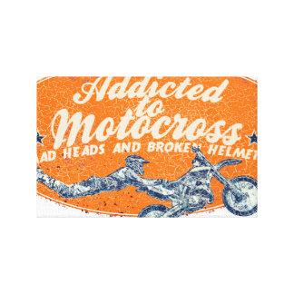 Moto race canvas prints