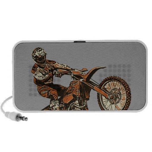 Moto racer iPod speaker