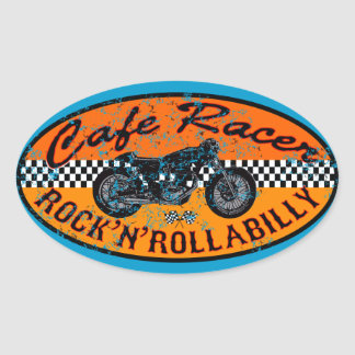 Moto racer sticker