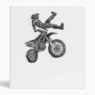 Moto racing binder