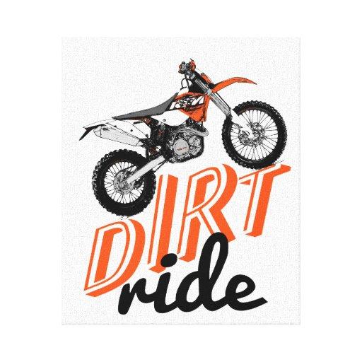 Moto racing canvas print