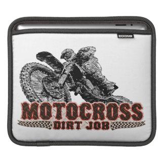 Moto racing iPad sleeves