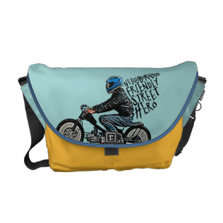 Moto racing courier bags
