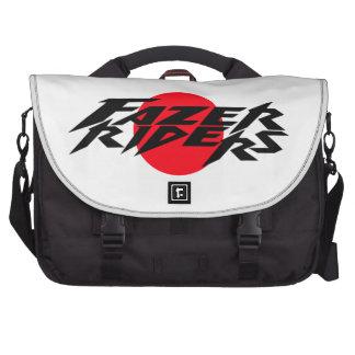 Moto riders laptop bags