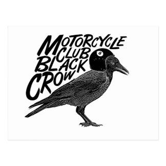 Moto riders post card