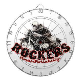 Moto Rockers Dartboard With Darts