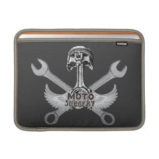 Moto speed shop MacBook air sleeves