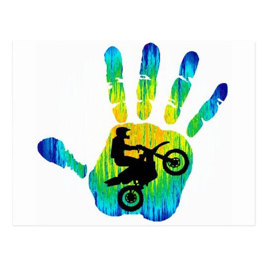 Moto Strong Vibes Postcard