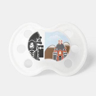 Moto Travel vector Pacifier