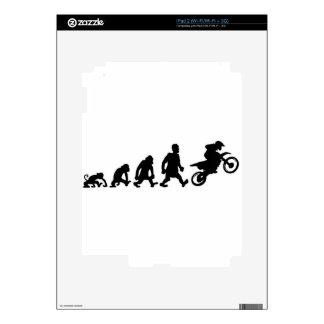 moto trial enduro skin for the iPad 2