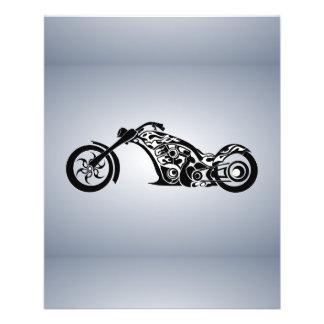 MOTO TRIBAL TRANSPOR del TATUAJE motor-bike-531004 Tarjetón