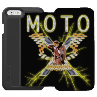 Moto x Electrified iPhone 6/6s Wallet Case