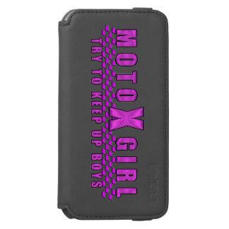 Moto X Girl iPhone 6/6s Wallet Case