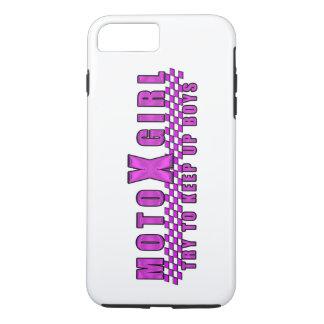 Moto X Girl iPhone 8 Plus/7 Plus Case