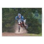 Moto X Greetings Card 4 Motocross