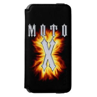 Moto X is on fire iPhone 6/6s Wallet Case