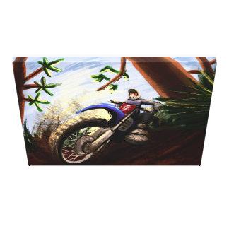 motoart canvas print
