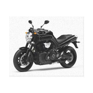 Motocicleta 15 impresion en lona