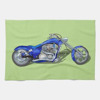 Motocicleta 1 - Azul Toalla