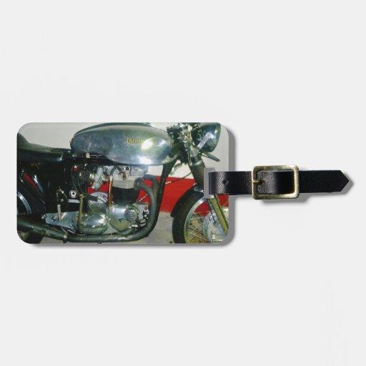 Motocicleta británica de Tritón Etiquetas Para Equipaje
