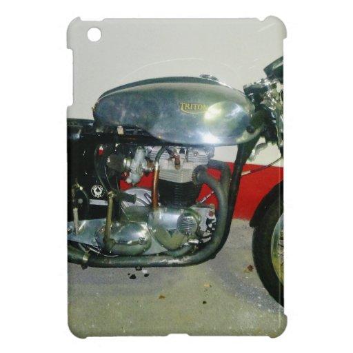 Motocicleta británica de Tritón iPad Mini Protectores