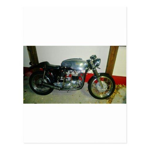 Motocicleta británica de Tritón Tarjeta Postal