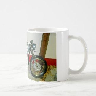 Motocicleta británica de Tritón Taza