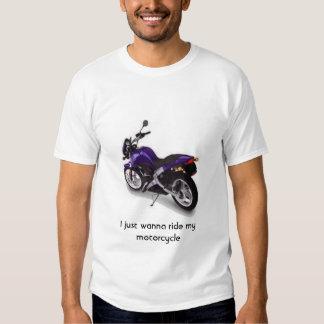 motocicleta camisas
