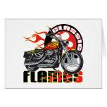 Motocicleta clásica del trabajo de la pintura de