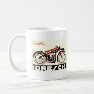 Motocicleta de Dresch Taza Básica Blanca