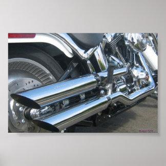 Motocicleta de Harley Póster