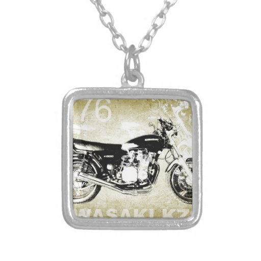 Motocicleta de Kawasaki KZ900 del vintage Colgantes Personalizados