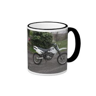 Motocicleta de la bici de la suciedad de Suzuki dr Taza De Dos Colores