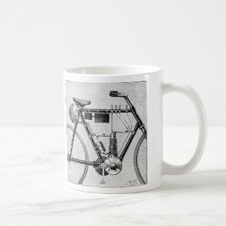 Motocicleta de Petrolette Omega, 1895 Taza