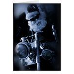 motocicleta de santa tarjeton