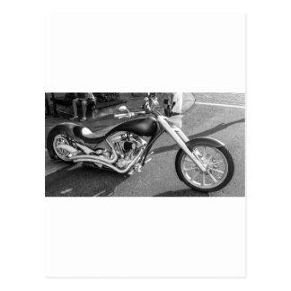 Motocicleta de Spaceage Tarjetas Postales