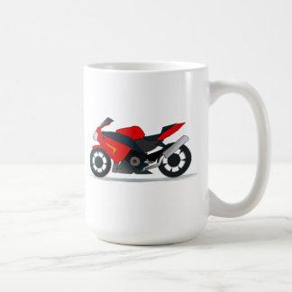 Motocicleta de Sportbike Taza Clásica