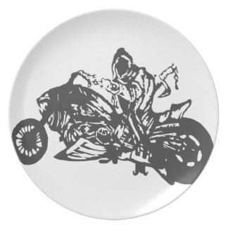 Motocicleta del interruptor del segador de Grimm Plato De Cena