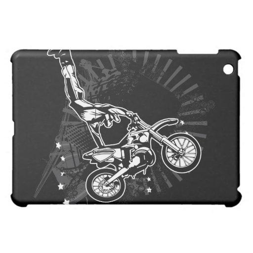 Motocicleta del puente del motocrós del Grunge
