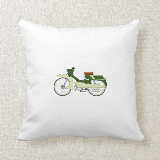 Motocicleta del vintage cojines