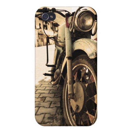 Motocicleta del vintage iPhone 4/4S carcasas