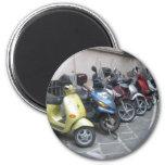 motocicleta imán de frigorífico