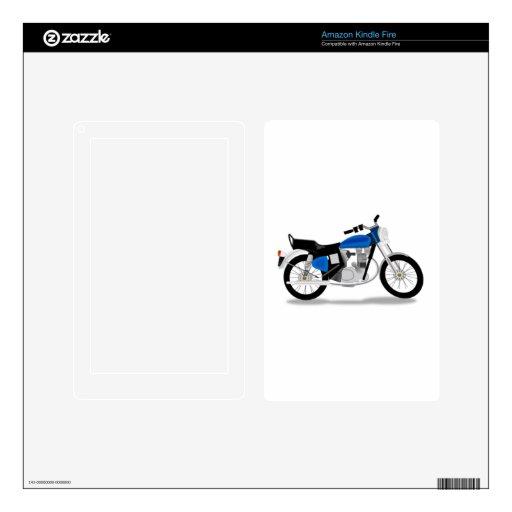 Motocicleta Kindle Fire Pegatina Skin