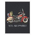 Motocicleta linda anuncio